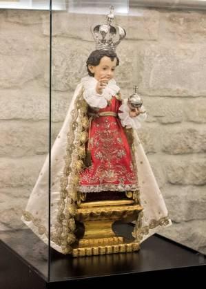 Niño Jesús de Praga. Anónimo s. XVIII.